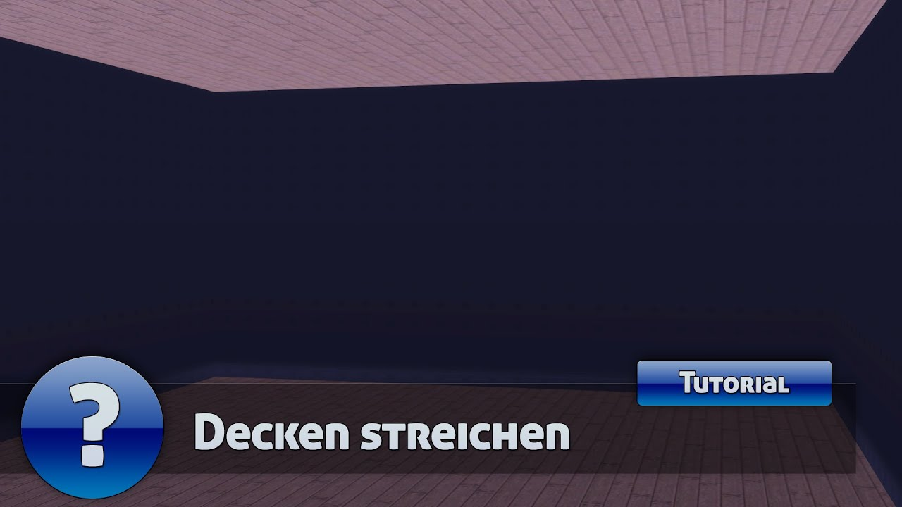 die sims 3 tutorial decke streichen deutsch hd youtube. Black Bedroom Furniture Sets. Home Design Ideas