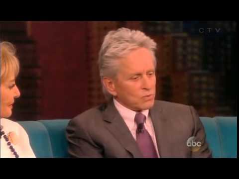 Michael Douglas Talks: Barbara's Last Interview on The View Show