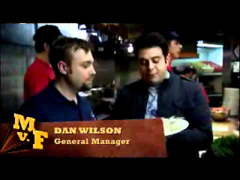 Crab Pot Seattle Man vs. Food with Adam Richman
