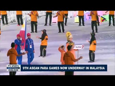 SPORTS NEWS: 9th ASEAN Para Games now underway in Malaysia
