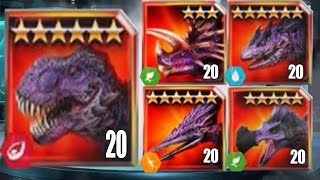 Jurassic World The Game - All Bosses