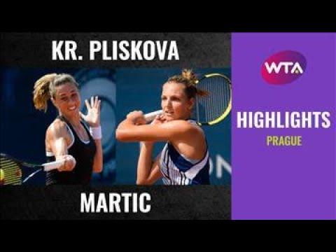 Download Kristyna Pliskova vs. Petra Martic   2020 Prague Second Round   WTA Highlights