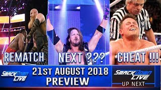 WWE Smackdown Live 21st August 2018 Preview என்ன நடக்கும் ??? | Wrestling Entertainment Tamil