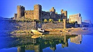 Wales  Conwy Castle  Уэльс Замок Конви(Замок Конви (Conwy Castle) является одной из самых больших крепостей средневековой Европы. Расположен на въезде..., 2014-04-12T19:44:02.000Z)