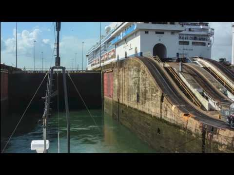 Panama Canal Timelapse: Caribbean to Pacific