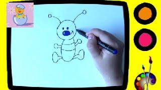 Учимся рисовать ПРОФЕССОР_КАРАПУЗ(Учимся рисовать - развивающее видео для малышей. Развивает творческие способности ребенка, цветовое воспри..., 2014-07-15T09:27:59.000Z)