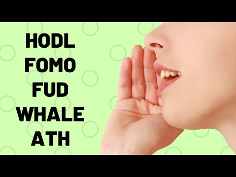 HODL, ATH, Whale - What Do These Mean? Crypto Slang EXPLAINED!!
