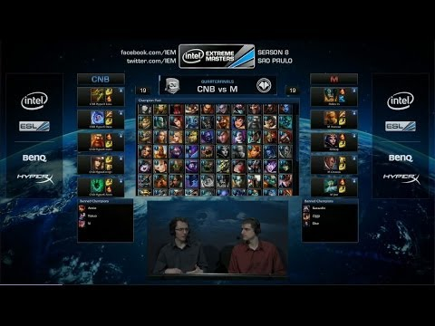 Millenium Vs Cnb Esports Match 2 IEM Sao Paulo League of Leg