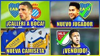 Actualidad Xeneize: ¿Calleri a Boca? - Pol Fernandez Confirmado - Camiseta Nueva!