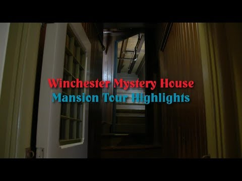 Winchester Mystery House - Mansion Tour Highlights (HD)