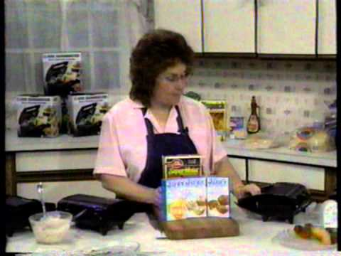 Snackmaster infomercial with Cathy 1990 Pt. 1