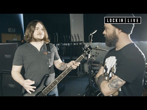 Backline with Aaron Pauley - Bassist with Of Mice & Men