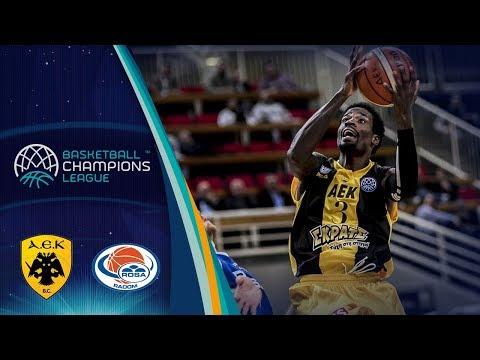 AEK v Rosa Radom - Full Game - Basketball Champions League