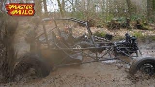 Offroad buggy testdrive