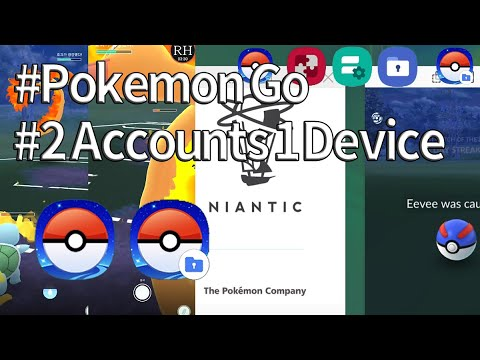 PokemonGo] How to 5 Accounts in 1 Device: MultiStar, DualApp