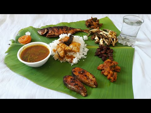 South Indian Seafood Lunch Recipe | South Indian Non- Veg Recipes In Tamil | Non Veg Recipes