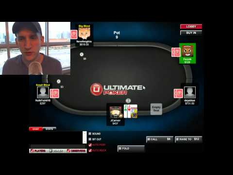 $3/$6 NLHE on Ultimate Poker