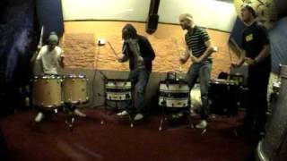 Devil Sold His Soul - In The Studio - Album 2 - Group Drums Shinanigans