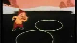 Jingle Bells sing-along - '' Snow Foolin' '', animierten cartoon, der (1949 )