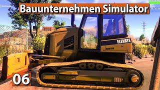 BAUUNTERNEHMEN SIMULATOR 🏗️ Weg mit der Tankstelle ► #6 Demolish And Build 2018 deutsch