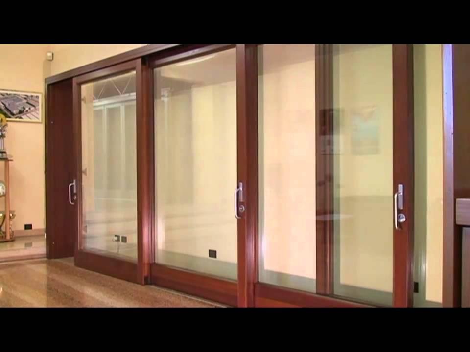 Porte Scorrevoli 4 Ante.Alzante Scorrevole Motorizzato Youtube