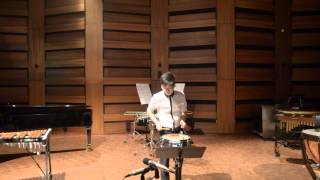 """I"" from Three Pieces for Snare Drum - Ian Cleworth 