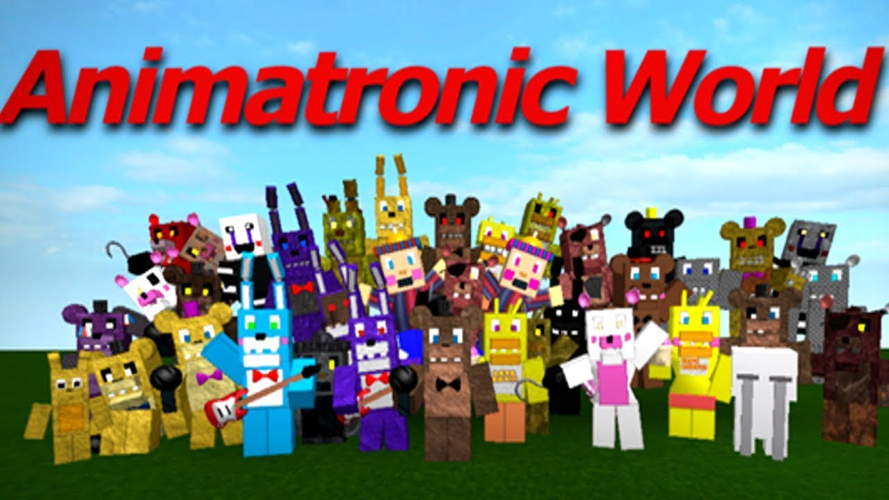 How To Get Vip On Animatronic World Roblox