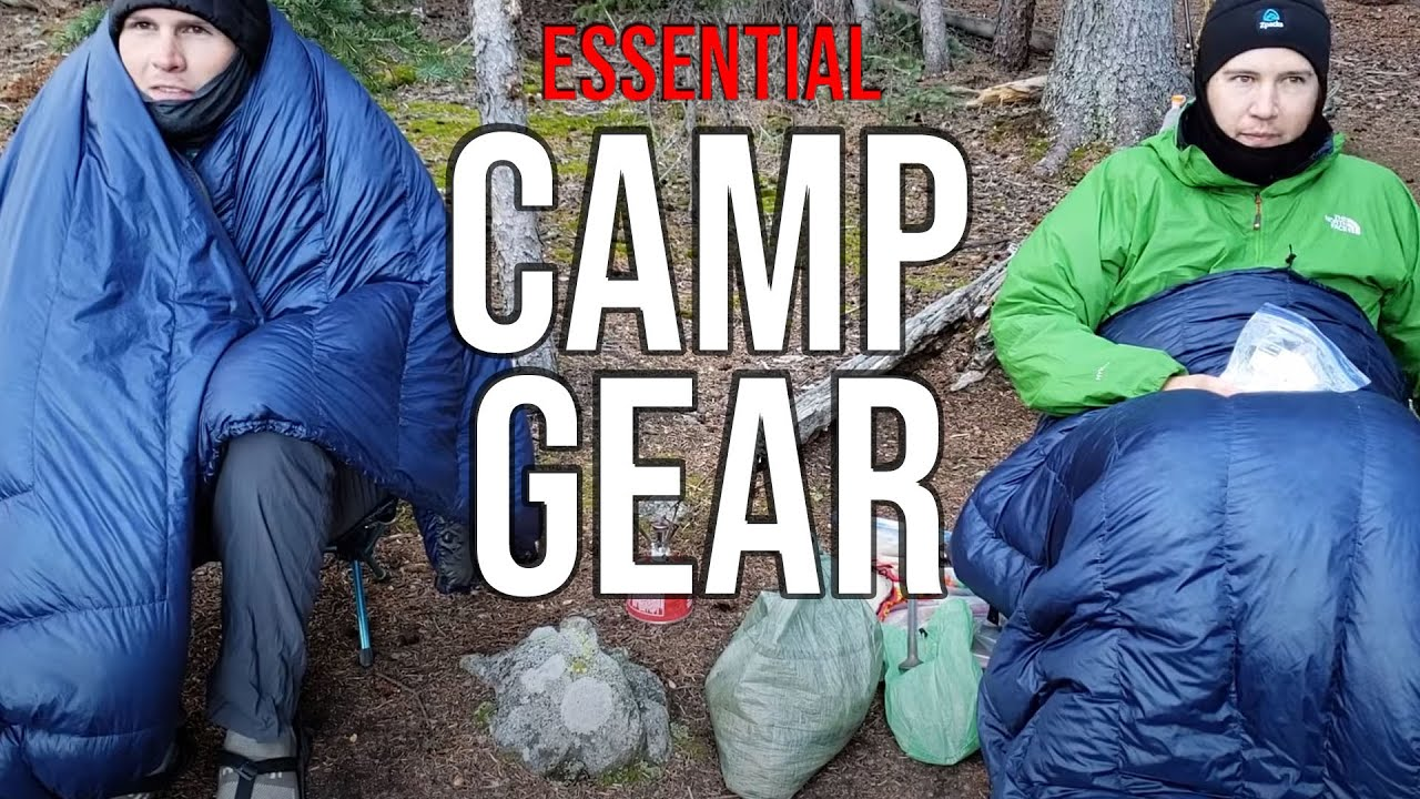 ESSENTIAL Gear for an AWESOME Camping Experience
