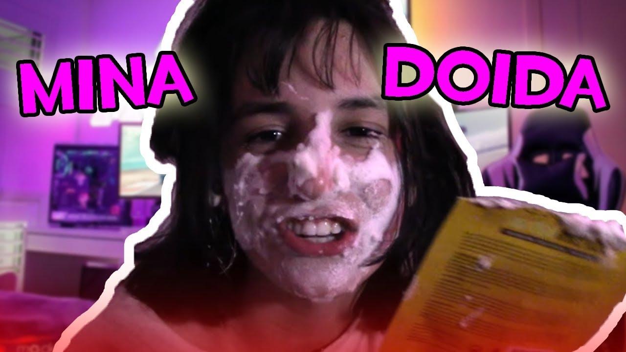A Garota Cringe que Tentou Imitar o Youtuber mais Doente