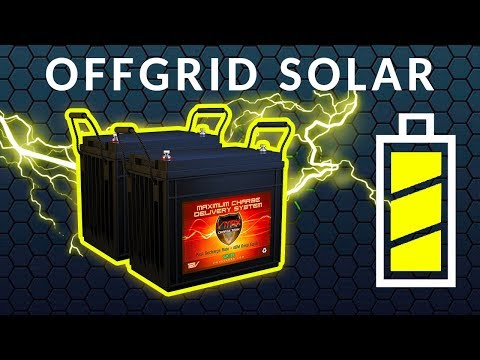 Which Solar Batteries Are Best for Off Grid Van Life?