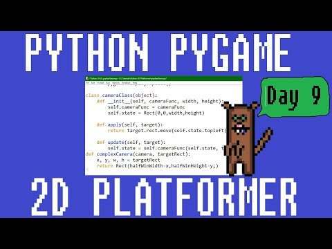 How to Code with Python 2D Platformer Day 9 - Complex Camera