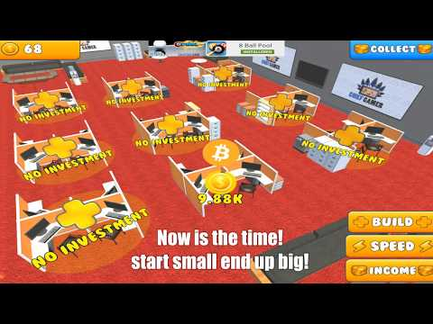 Bitcoin Empire Crypto Miner - HD Gameplay Video