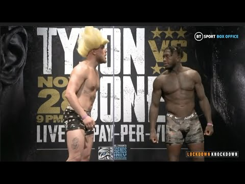 Download JAKE PAUL ATTEMPTS TO TORMENT NATE ROBINSON - OFFICIAL WEIGH IN (FULL) / TYSON v JONES