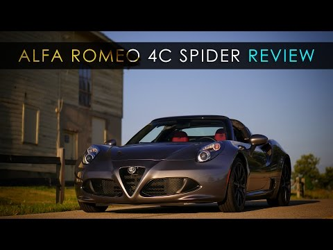 Review | Alfa Romeo 4C Spider | Perfectly Imperfect