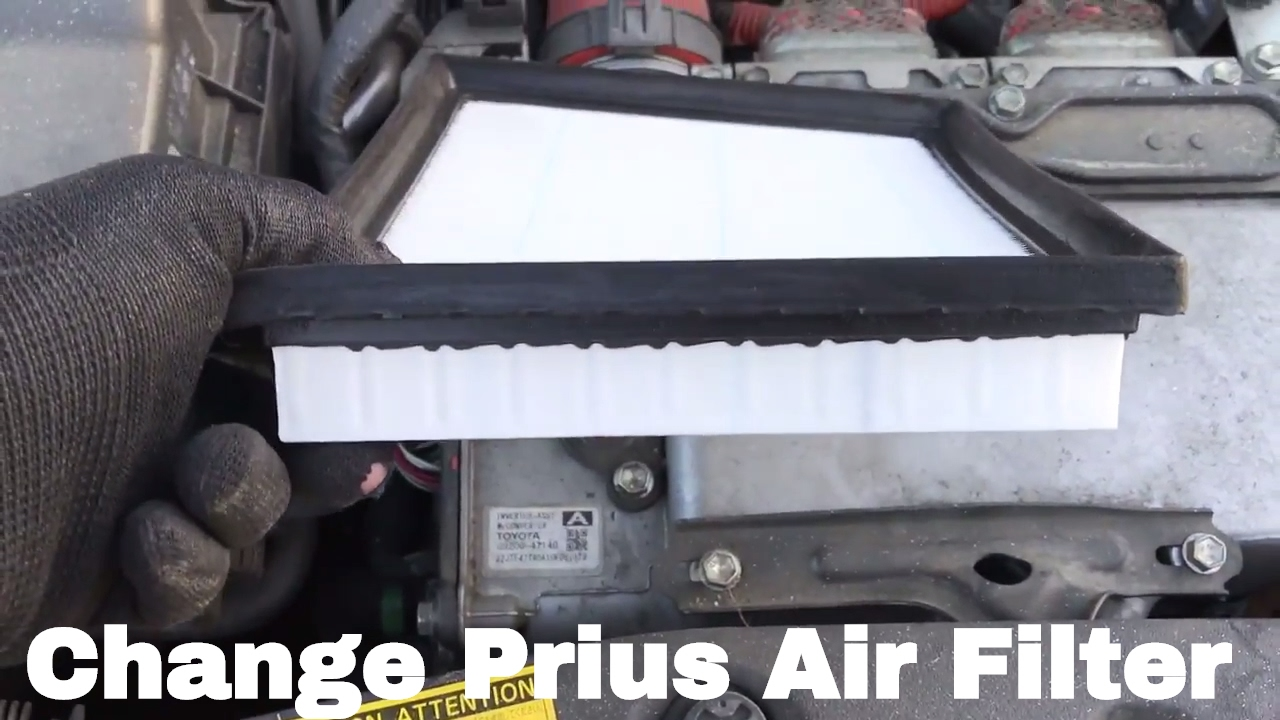 How To Change Or Replace 2010 Prius Air Filter 2010, 2011, 2012, 2013,  2014, 2015