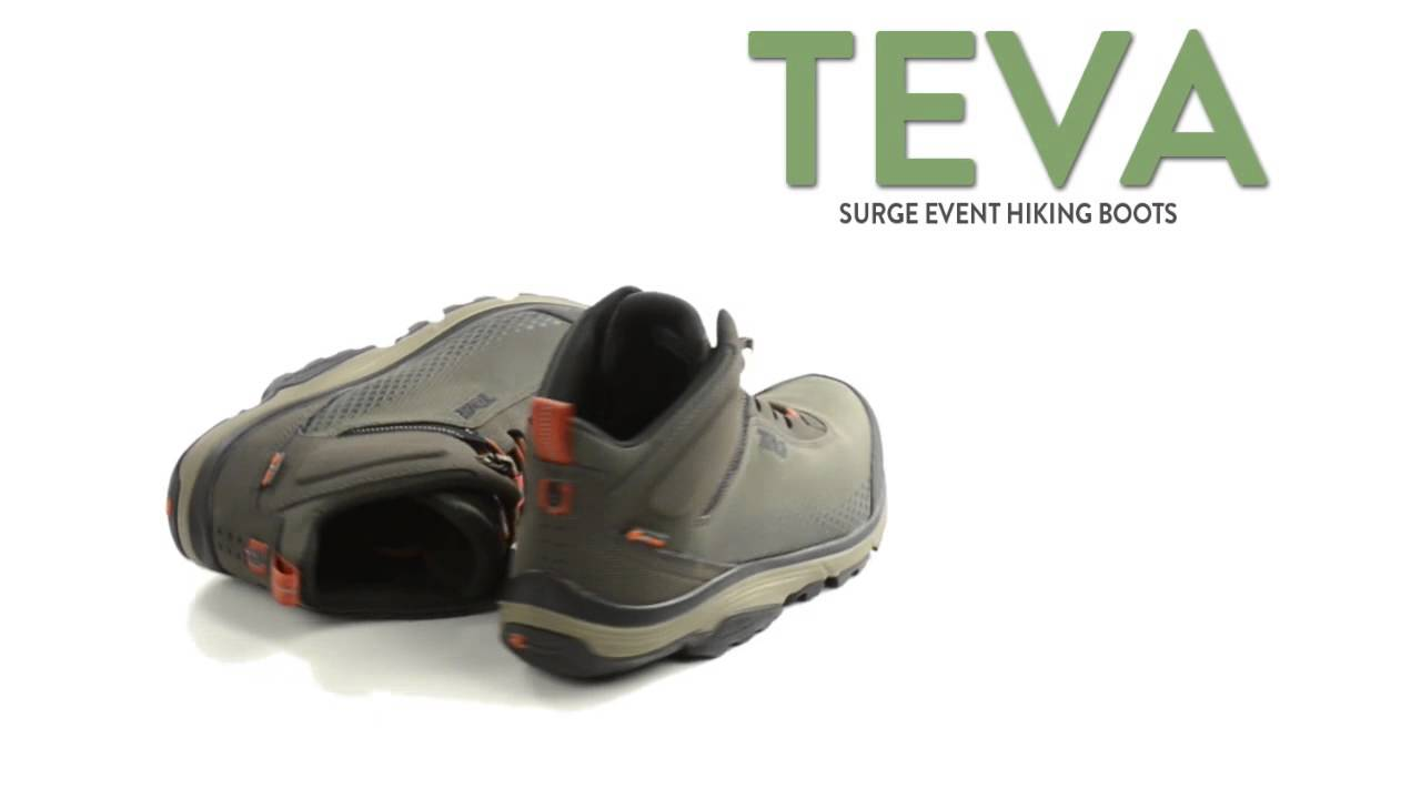 16dedb238d97 Teva Surge eVent® Hiking Boots - Waterproof (For Men) - YouTube