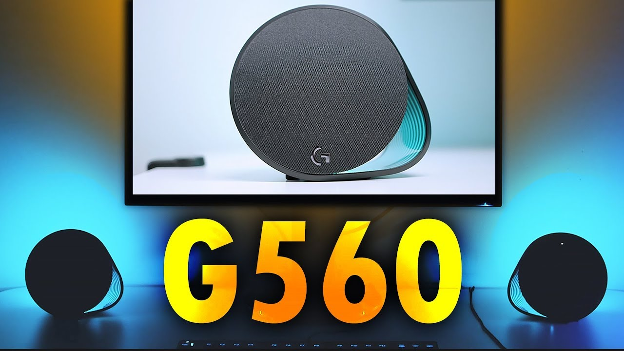 NOT What We Expected! - Logitech G560 Computer Gaming Speakers