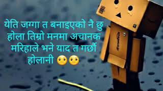 Heart Touching Love Quotes nepali 😐😭😭