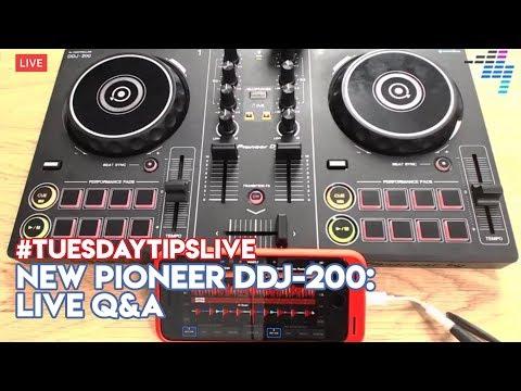 NEW Pioneer DJ DDJ-200: Live Q&A #TuesdayTipsLive Mp3