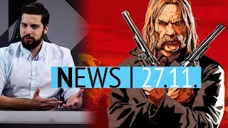 Red Dead Online: Offizielle Start-Zeiten für PS4 & Xbox One - Zelda Skyward Sword für Switch? - News