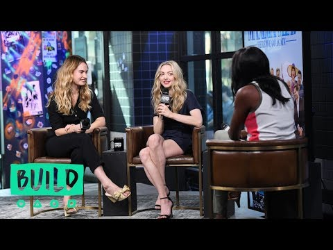 Amanda Seyfried And Lily James Chat About Mamma Mia! Here We Go Again (With Our Pre-Show, The BUIL