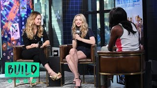 "Amanda Seyfried And Lily James Chat About ""Mamma Mia! Here We Go Again"" (With Our Pre-Show, The BUIL"