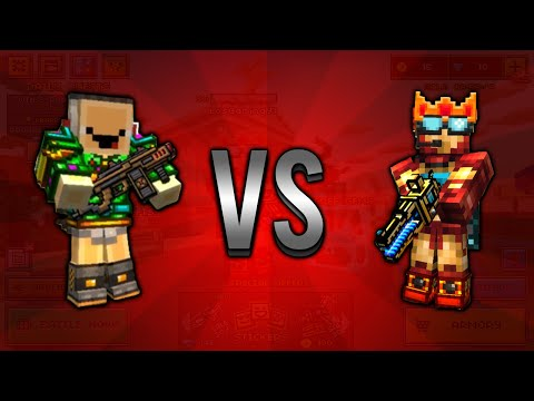 1v1 With LosGaming In Pixel Gun 3D!