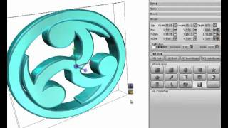 Quickly to create a 3D Logo By  Aurora 3D Text & Logo Maker