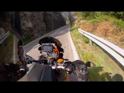 Amazing twisty route in Montenegro from Podgorica to Biogradska on 1190 Adv