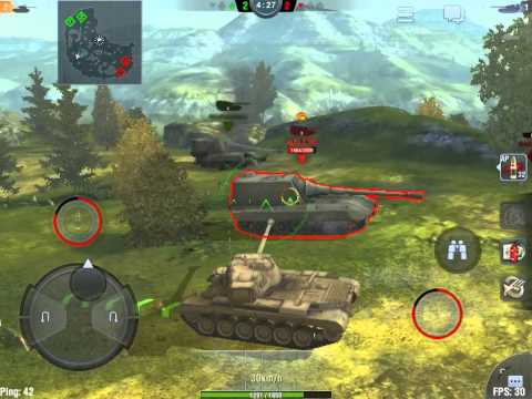 World of Tanks Blitz  M46 Patton, Just an Awesome Tank