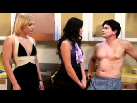 two and a half men rose nude