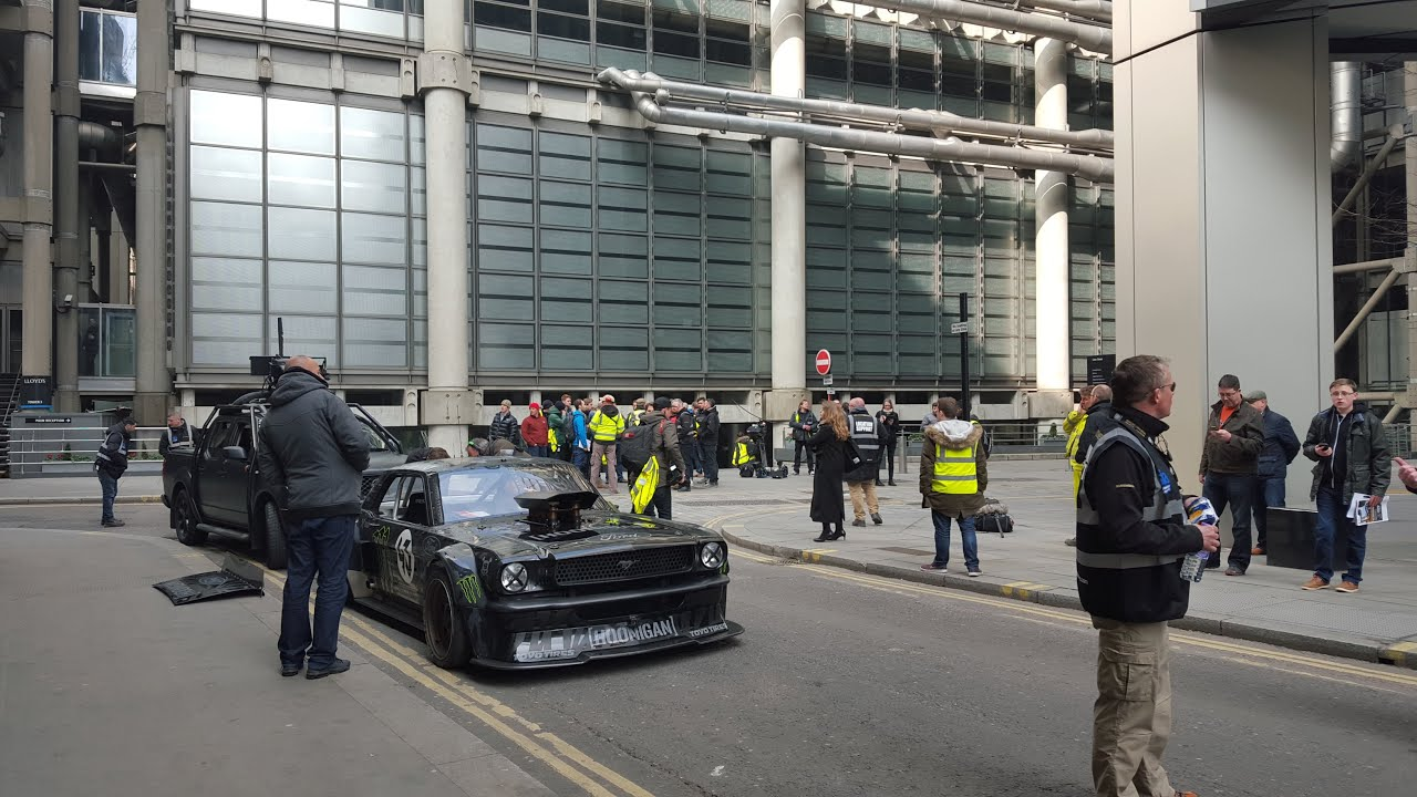 New Top Gear filming in London with Ken Block & Matt ...