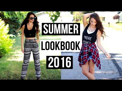 SUMMER LOOKBOOK 2016 | Kelly Nelson