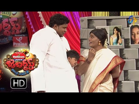 BulletBhaskarSunamiSudhakarPerformance | Jabardsth | 29th September 2016 | ETV  Telugu